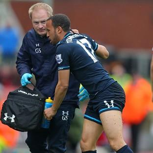 Andros Townsend picked up an ankle injury in Tottenham's win over Stoke on Saturday