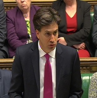 Ed Miliband has challenged David Cameron over the Royal Mail sell-off