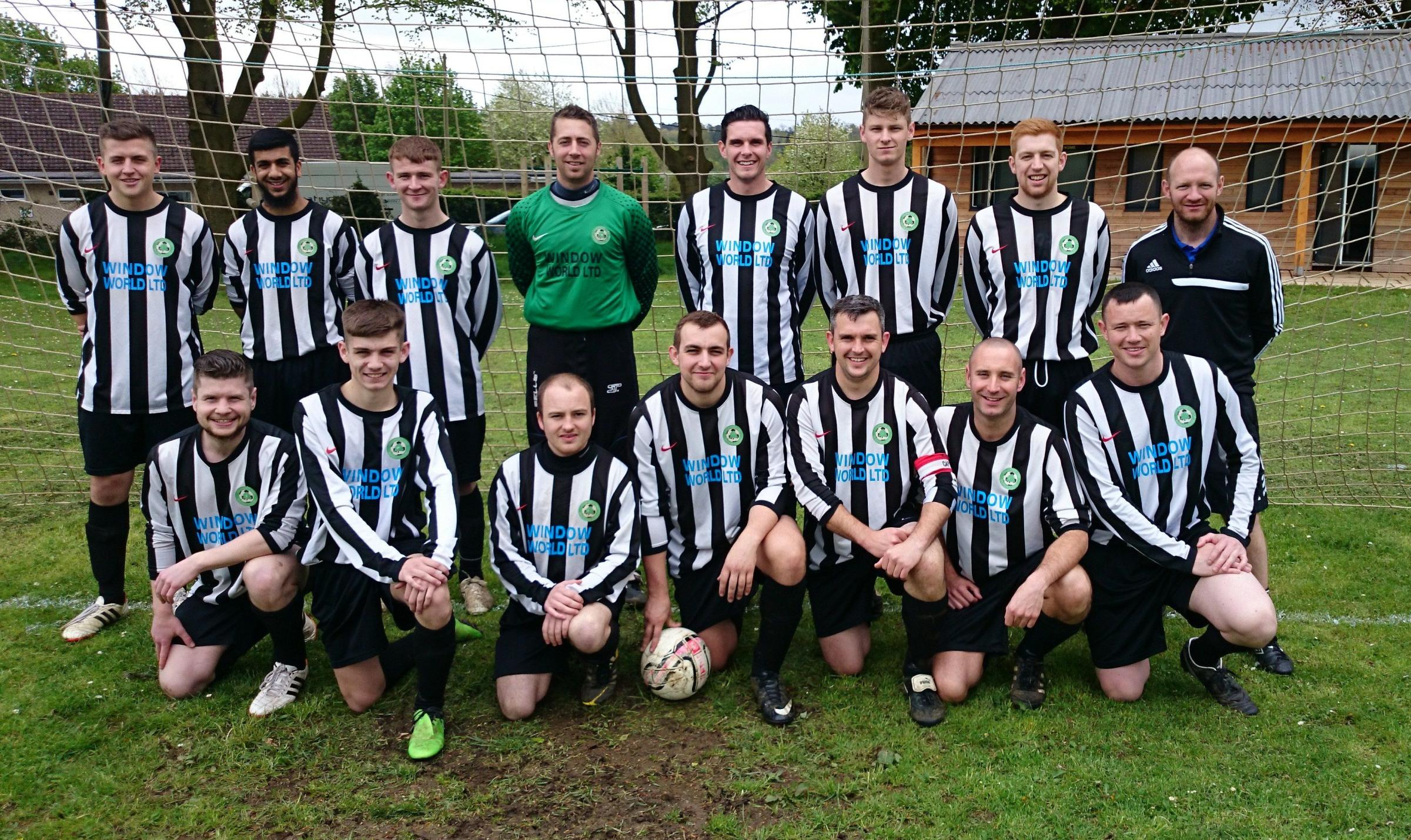 Braishfield's title winning team.