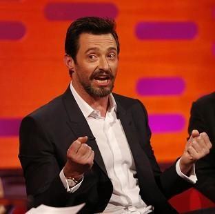 Hugh Jackman escaped serious injury when he tried to preserve his dignity while wearing his Wolverine blades