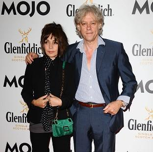 Hampshire Chronicle: Bob Geldof and Jeanne Marine have reportedly got engaged