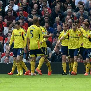 Sunderland's win against Manchester United all but secured their safety