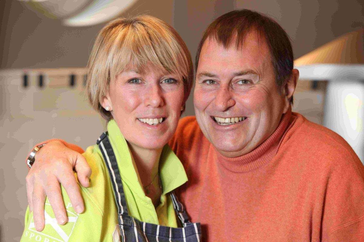 Simon Hawkins and his wife Penny have launched