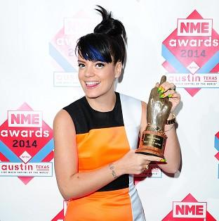 Lily Allen has given up her wild ways
