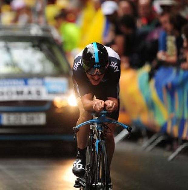 Hampshire Chronicle: Geraint Thomas is considering his future with Team Sky