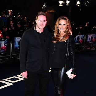 Katie Price and Kieran Hayler are headed for divorce, according to a message posted on the model's Twitter account
