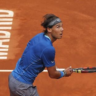 Rafael Nadal, pictured, defeated Juan Monaco 6-1 6-0 (AP)