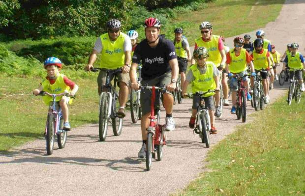 Winchester cycling group launches new family rides
