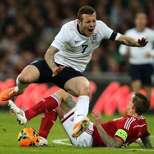 Jack Wilshere is close to a comeback from the foot injury picked up against Denmark