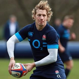Centre Billy Twelvetrees is a doubt for England's summer tour