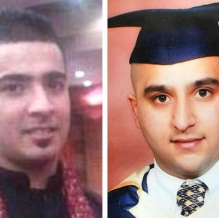 Hampshire Chronicle: Haroon Jahan, left, and Shazad Ali, both died when they were mowed down by a car while protecting their community from looters in Birmingham.