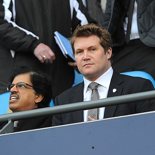 David Haigh, right, quit as Leeds United managing director earlier this year
