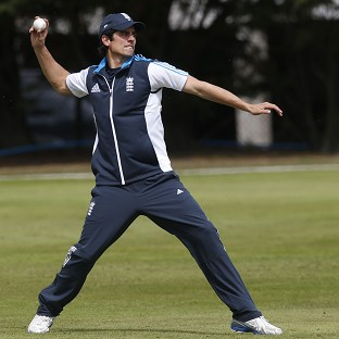 Alastair Cook had to be patient