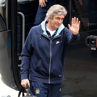 Manuel Pellegrini's side realistically need only a point against West Ham to clinch the title on Sunday