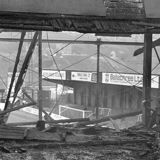 Hampshire Chronicle: Fifty-six people died in the Bradford City fire tragedy 29 years ago