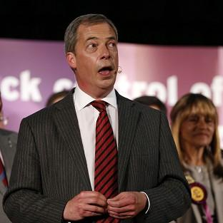Nigel Farage has condemned the often violent nature of protests against him