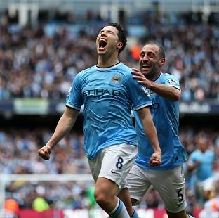 Samir Nasri gave Manchester City the lead in the encounter