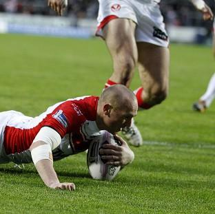 Luke Walsh scored a try and kicked seven goals as St Helens beat Bradford 50-0