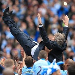Manuel Pellegrini had a hugely successful first year as Manchester City manager