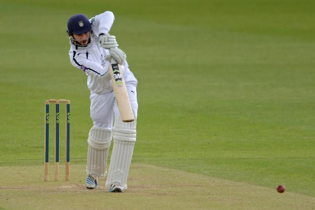 Hants secure first-innings lead