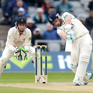 Ian Bell's defiant half-century prevented Yorkshire taking full control