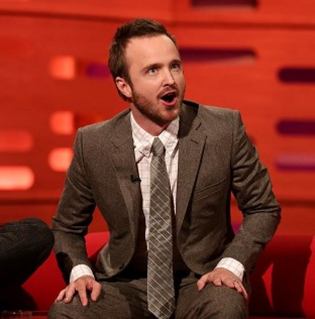 Hampshire Chronicle: Aaron Paul loves married life