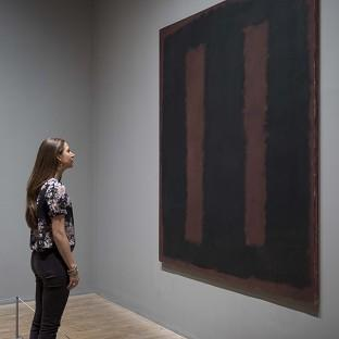 Black on Maroon 1958 by influential artist Mark Rothko has gone back on display after 18 months of restoration work after it was