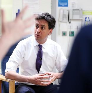 Ed Miliband has vowed to put an end to