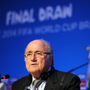 Sepp Blatter admitted FIFA had made a mistake
