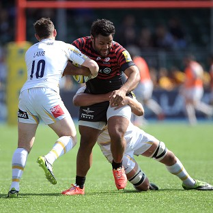 Billy Vunipola plays alongside his brother at Saracens