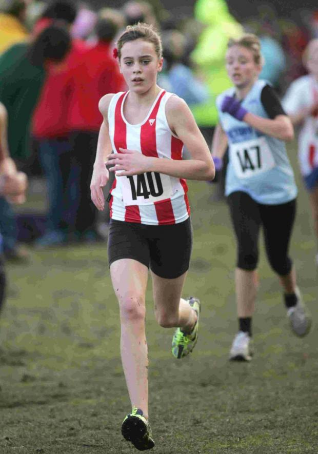 Hampshire Chronicle: Southampton runner Aimee Coppin.