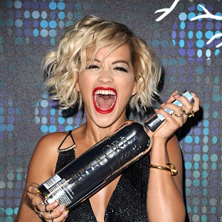 Rita Ora at a party during the 67th international film festival, Cannes. (AP)