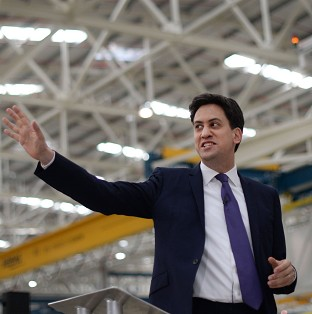 Campaigning Miliband attacks Ukip