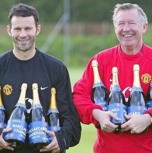 Sir Alex Ferguson, pictured right, hailed the