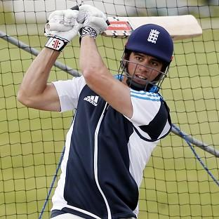 Michael Vaughan believes Alastair Cook, pictured, will be under pressure to deliver this summer