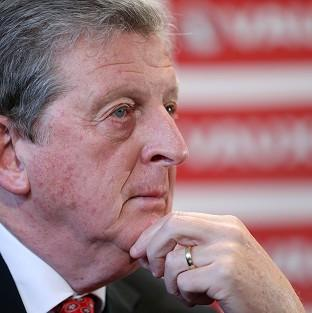 Roy Hodgson has told his players that World Cup starting places are up for grabs