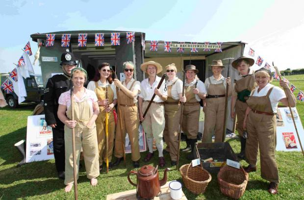 Hampshire Chronicle: Land Girls at Large at Sparsholt College's 12th annual Countryside Day