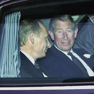 Charles 'has a point' over Putin