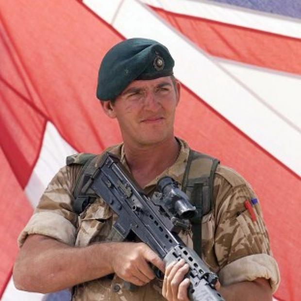 "Hampshire Chronicle: Sergeant Alexander Blackman was sentenced to life and ""dismissed with disgrace"" from the Royal Marines"