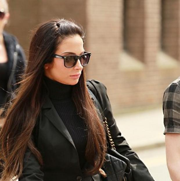 Hampshire Chronicle: Singer Tulisa Contostavlos, 25, denies an assault charge