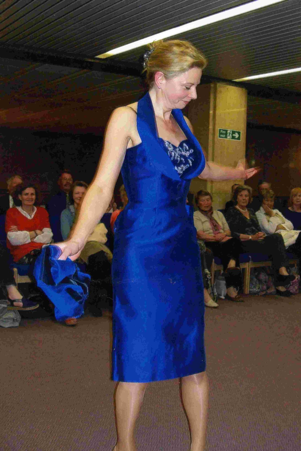 Winchester Crown Court loosens its shackles for its fundraising fashion show