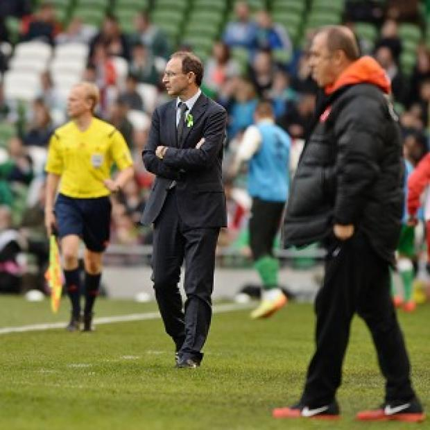 Hampshire Chronicle: Martin O'Neill watched his side slip to defeat