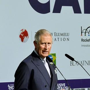 The Prince of Wales during his address to the Inclusive Capitalism conference at the Mansion House in the City of London