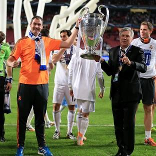 Paul Clement, left, is looking forward to enjoying another season with Real Madrid