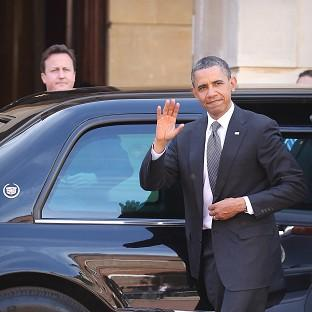 Hampshire Chronicle: David Cameron and Barack Obama have held talks about Afghanistan, Ukraine and Syria.