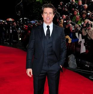 Tom Cruise attended the world premiere of Edge Of