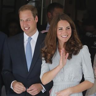 Hampshire Chronicle: The Duke and Duchess of Cambridge are visiting the Glenturret distillery, near Crieff in Perthshire