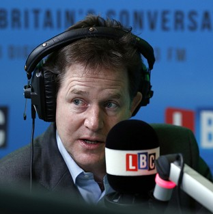 Cable no plotter, insists Clegg