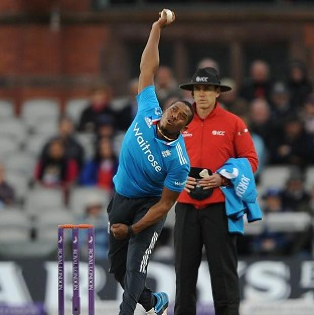 Hampshire Chronicle: Man-of-the-match Chris Jordan took a career-best five for 29 as England beat Sri Lanka at Emirates Old Trafford