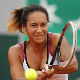 Hampshire Chronicle: Heather Watson lost in the second round of the French Open to fourth seed Simona Halep (AP)